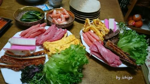 icigo 中澤家手巻き寿司