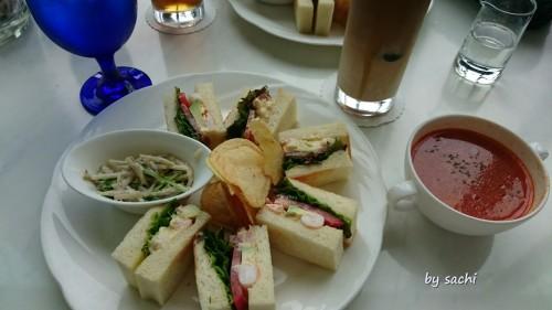 sachi ヒルトンプラザウエスト3F The Grand Cafe